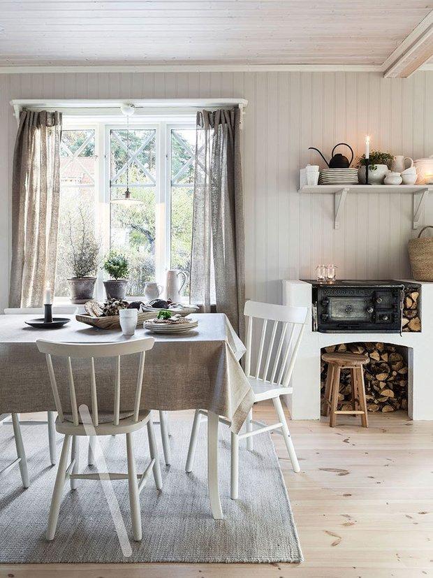 Фотография: Кухня и столовая в стиле Скандинавский, Советы, Дача, Гид – фото на INMYROOM