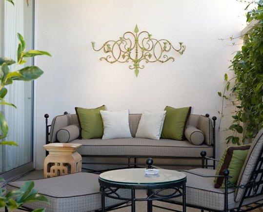 Фотография: Терраса в стиле Современный, Декор интерьера, Декор дома, Цвет в интерьере, Обои – фото на INMYROOM