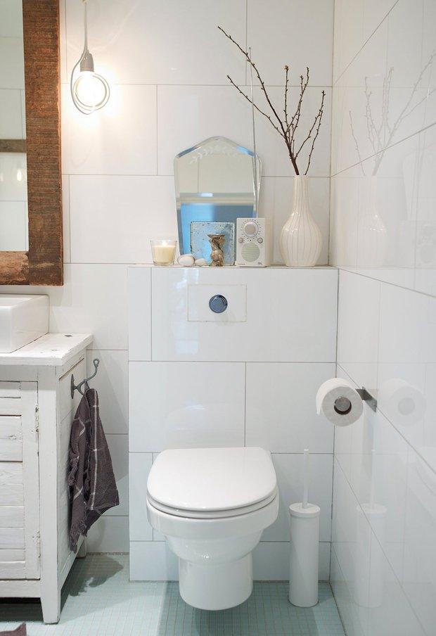 Фотография: Ванная в стиле Прованс и Кантри, Декор интерьера, DIY – фото на InMyRoom.ru