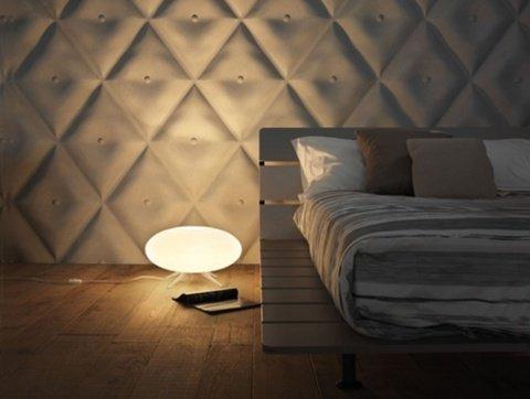 Фотография: Спальня в стиле Эко, Интерьер комнат, Кровать, Гардероб, Комод, Пуф, Табурет – фото на INMYROOM