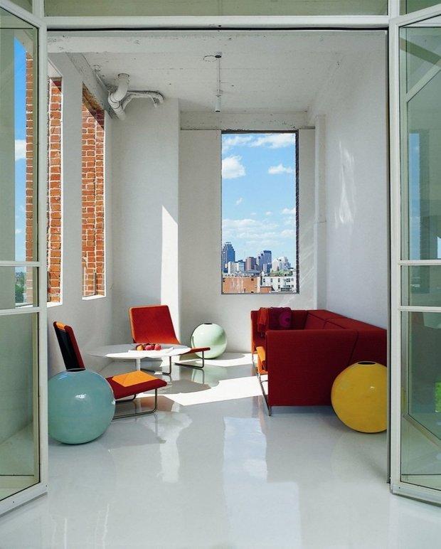 Фотография: Гостиная в стиле Хай-тек, Декор интерьера, Дизайн интерьера, Цвет в интерьере – фото на INMYROOM