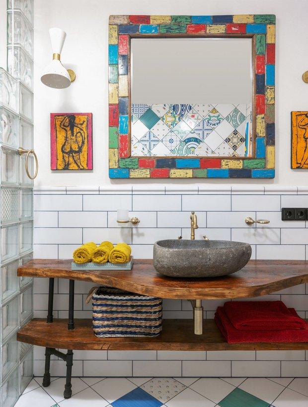 Фотография:  в стиле , Ванная, Ariston, Советы, водонагреватель – фото на INMYROOM