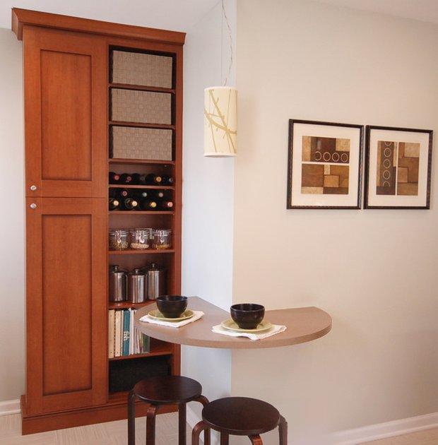Фотография: Мебель и свет в стиле Современный, Кухня и столовая, Интерьер комнат, Обеденная зона – фото на INMYROOM