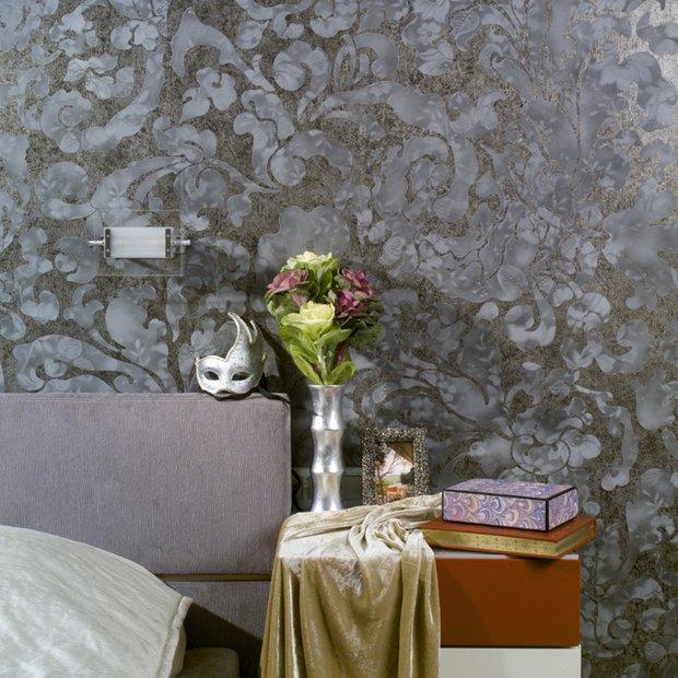 Фотография: Спальня в стиле Современный, Декор интерьера, Декор дома, Декоративная штукатурка – фото на INMYROOM