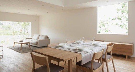 Фотография: Кухня и столовая в стиле Минимализм, Дом, Дома и квартиры, Япония – фото на INMYROOM