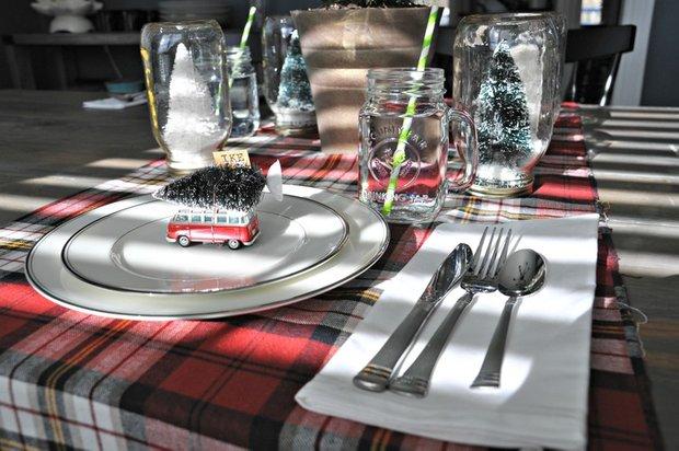 Фотография: Декор в стиле Современный, Декор интерьера, Праздник, Новый Год, Сервировка стола – фото на INMYROOM