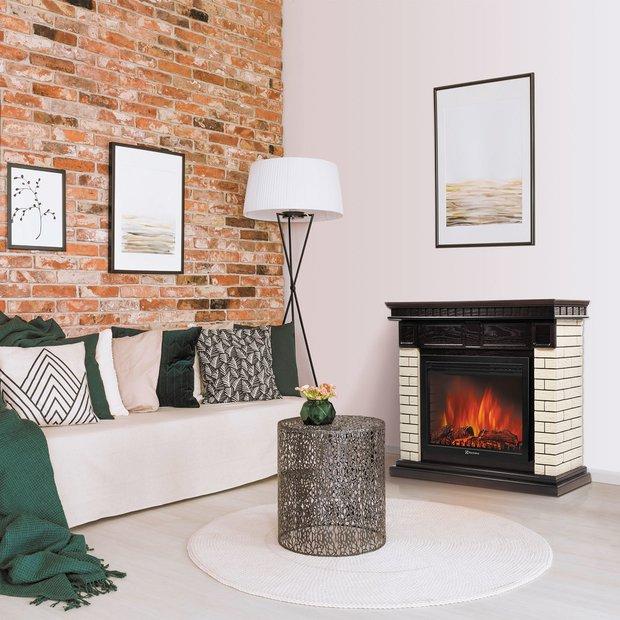 Фотография: Гостиная в стиле Минимализм, Советы, электрический камин в интерьере, камин в городской квартире, камин для квартиры – фото на INMYROOM