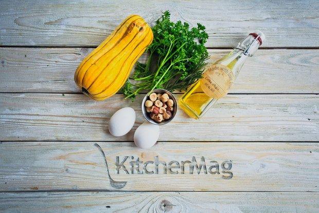 Фотография:  в стиле , Завтрак, Вегетарианская, Выпекание, Кулинарные рецепты, Варить, Легкий завтрак, 30 минут, Тыква, Средняя сложность – фото на INMYROOM