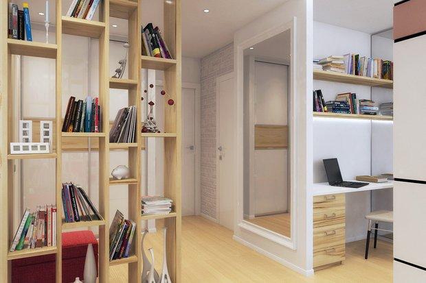 Фотография:  в стиле , Малогабаритная квартира, Советы, Никита Морозов, KM Studio – фото на INMYROOM