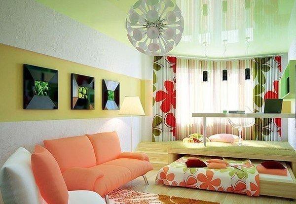 Фотография: Спальня в стиле Прованс и Кантри, Современный, Детская, Декор интерьера, Мебель и свет, Кровать, Подиум – фото на INMYROOM