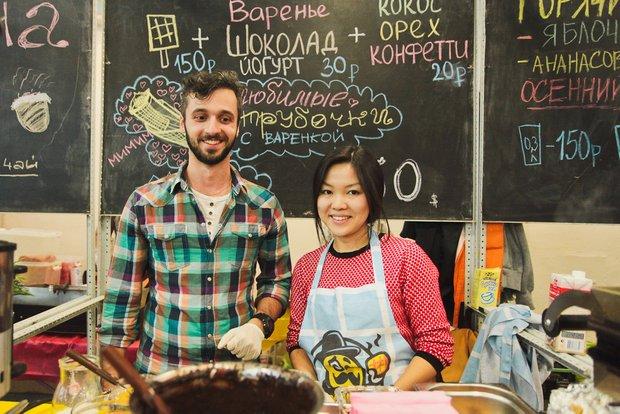 Фотография:  в стиле , Москва, Обзоры, гастрономические мероприятия, Городской маркет еды – фото на INMYROOM
