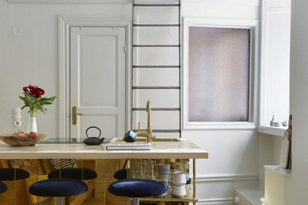 Фотография: Кухня и столовая в стиле Эклектика, Скандинавский, Декор интерьера, Малогабаритная квартира, Квартира, Студия, Швеция, Стокгольм – фото на INMYROOM