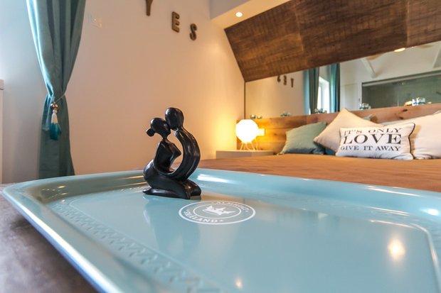 Фотография: Спальня в стиле Прованс и Кантри, Скандинавский, Современный, Интерьер комнат, Дача, Дачный ответ, Мансарда – фото на INMYROOM