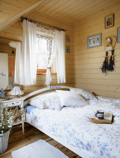 Фотография: Спальня в стиле Прованс и Кантри, Дом, Цвет в интерьере, Дома и квартиры, Городские места, Белый, Дача, Дом и дача – фото на InMyRoom.ru