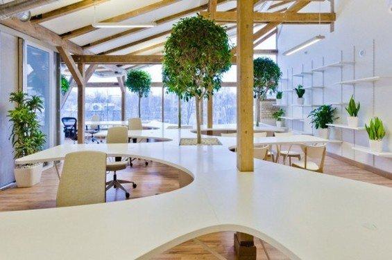 Фотография: Офис в стиле Эко, Декор интерьера, Офисное пространство, Ландшафт, Стиль жизни – фото на INMYROOM