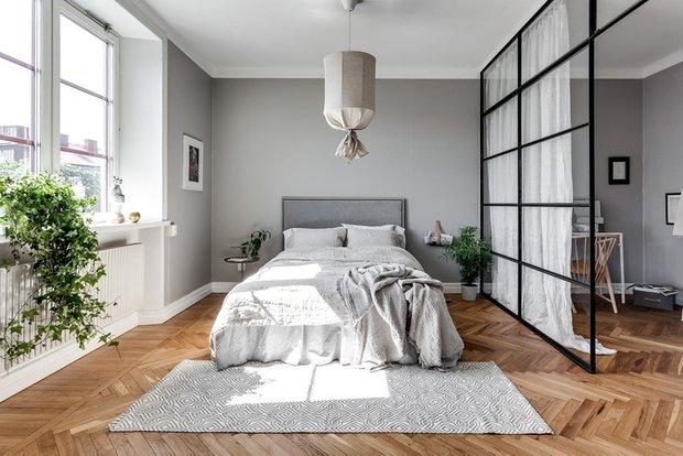 Фотография: Спальня в стиле Скандинавский, Советы, Иванна Дегтяренко – фото на INMYROOM