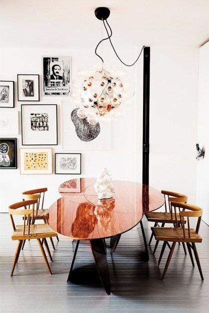 Фотография: Кухня и столовая в стиле Лофт, Скандинавский, Декор интерьера, Дизайн интерьера, Цвет в интерьере – фото на INMYROOM