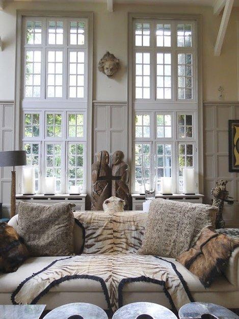Фотография: Гостиная в стиле Эклектика, Дом, Дома и квартиры, Колониальный – фото на INMYROOM