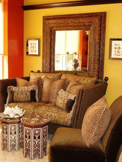 Фотография: Гостиная в стиле Современный, Декор интерьера, Дом, Декор дома, Цвет в интерьере – фото на INMYROOM