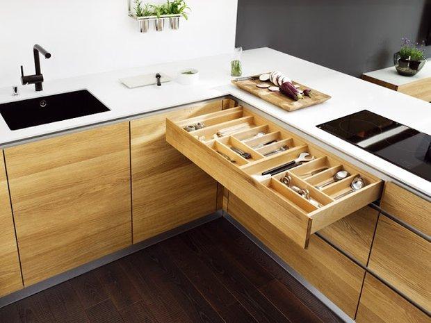 Фотография: Гостиная в стиле Современный, Кухня и столовая, Перепланировка, Finnish – фото на INMYROOM