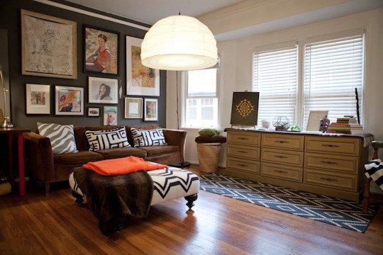 Фотография: Гостиная в стиле Прованс и Кантри, Декор интерьера, Квартира, Дома и квартиры, Стены, Картины, Современное искусство – фото на INMYROOM