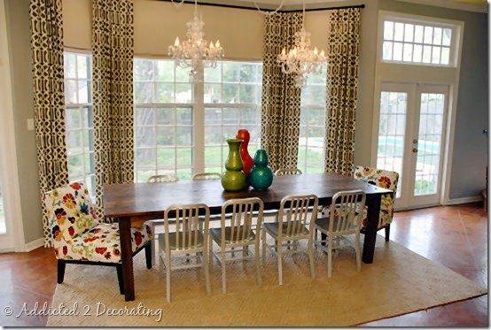 Фотография: Мебель и свет в стиле Современный, Кухня и столовая, Декор интерьера, Интерьер комнат, Переделка, Большие окна, Обеденная зона – фото на INMYROOM