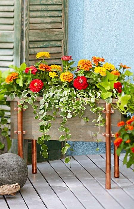 Фотография: Спальня в стиле Эклектика, Флористика, Советы, Цветы, кустарники – фото на INMYROOM