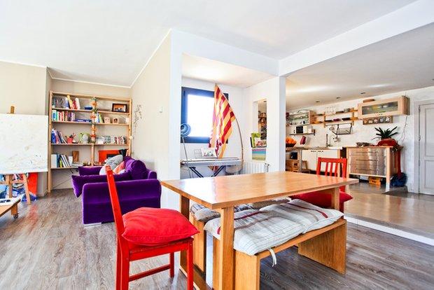 Фотография: Гостиная в стиле Современный, Эклектика, Квартира, Дома и квартиры, Барселона – фото на INMYROOM