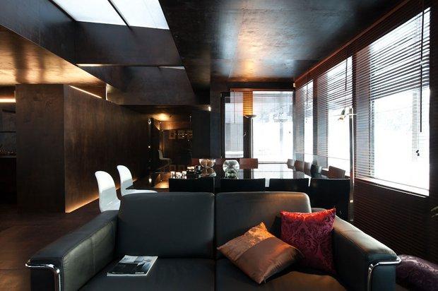 Фотография:  в стиле Лофт, Современный, Декор интерьера, Дизайн интерьера, Цвет в интерьере – фото на INMYROOM