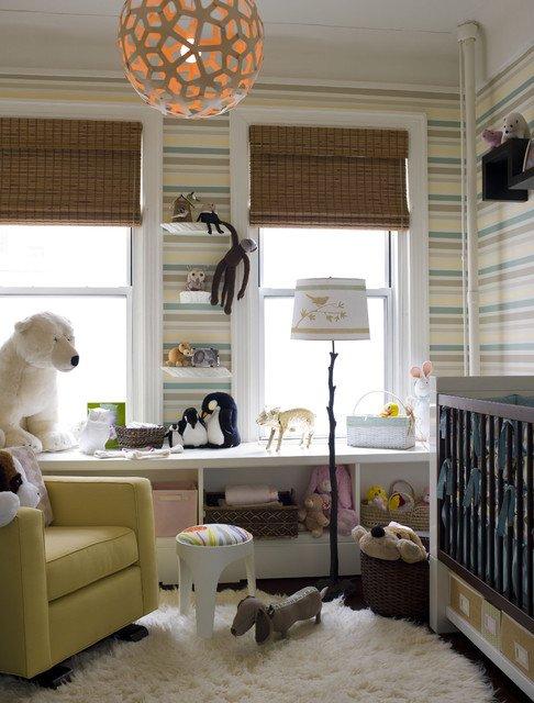 Фотография: Детская в стиле Современный, Декор интерьера, Советы, Подоконник – фото на INMYROOM