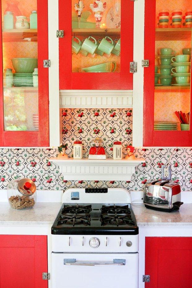 Фотография: Ванная в стиле Эклектика, Кухня и столовая, Малогабаритная квартира, Квартира, Декор, Советы, Хрущевка – фото на INMYROOM