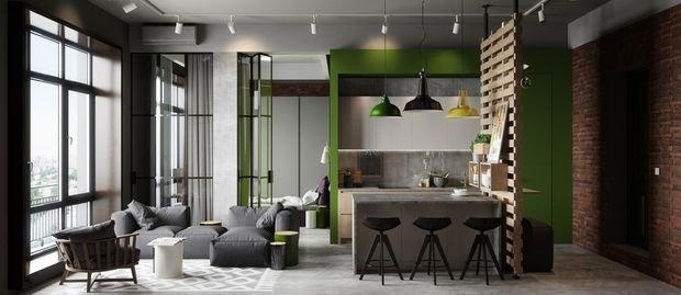 Фотография: Кухня и столовая в стиле Минимализм, Лофт, Декор интерьера, Малогабаритная квартира, Квартира, Дом, Декор – фото на INMYROOM
