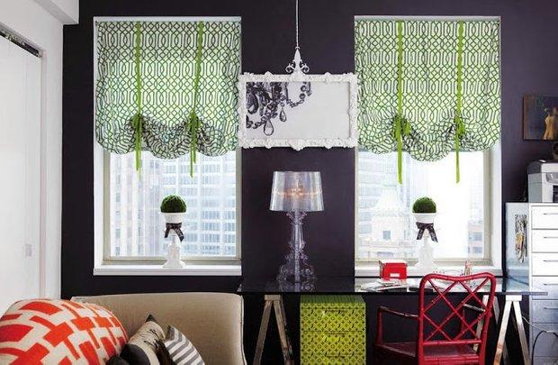 Фотография: Декор в стиле Эклектика, Декор интерьера, Текстиль, Шторы – фото на INMYROOM
