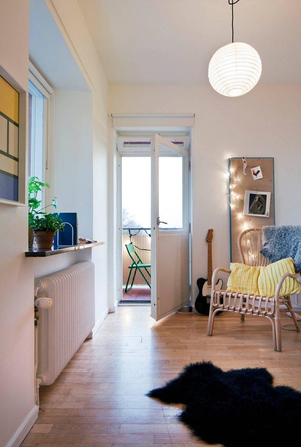 Фотография: Гостиная в стиле Скандинавский, Декор интерьера, Квартира, Дома и квартиры – фото на InMyRoom.ru