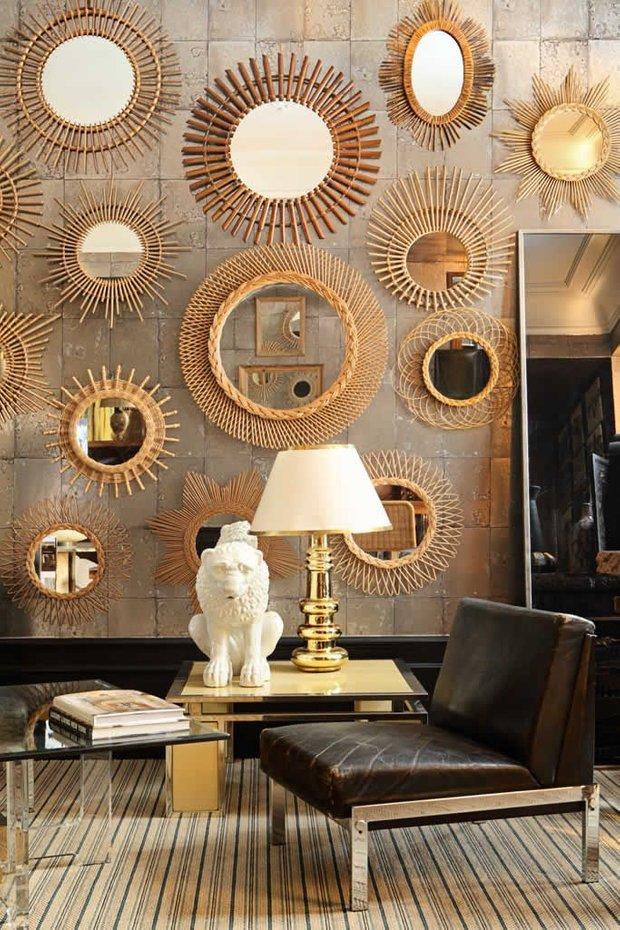 Фотография: Мебель и свет в стиле Эклектика, Декор интерьера, Малогабаритная квартира, Советы, Стены, Зеркало, Окна – фото на INMYROOM