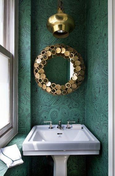 Фотография: Ванная в стиле Восточный, Декор интерьера, Дизайн интерьера, Цвет в интерьере – фото на INMYROOM