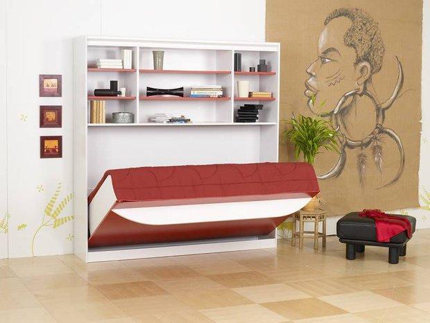 Фотография: Спальня в стиле Современный, Детская, Декор интерьера, Мебель и свет, Кровать, Подиум – фото на INMYROOM