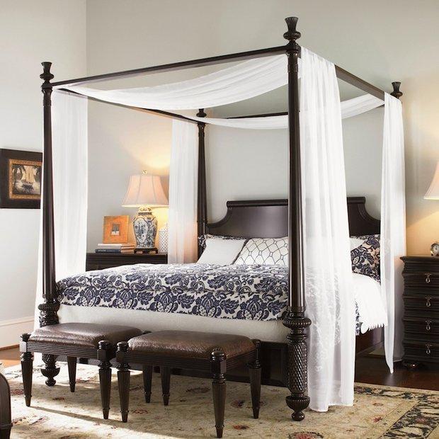 Фотография: Спальня в стиле Восточный, Декор интерьера, Мебель и свет, Балдахин – фото на INMYROOM