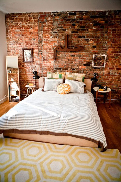 Фотография: Спальня в стиле Лофт, Декор интерьера, Декор дома, Стены – фото на INMYROOM