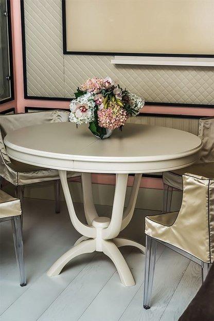 Фотография: Кухня и столовая в стиле Прованс и Кантри, Кабинет, Интерьер комнат – фото на INMYROOM