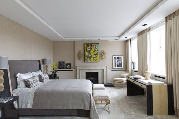 Фотография: Спальня в стиле Классический, Современный, Гид, Жан-Луи Денио – фото на INMYROOM