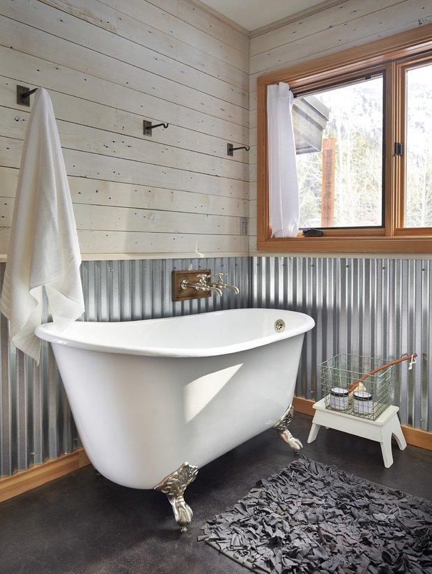 Фотография: Ванная в стиле Прованс и Кантри, Современный, Декор интерьера, Дизайн интерьера, Декор, Зеленый, Ванна, Эко – фото на INMYROOM