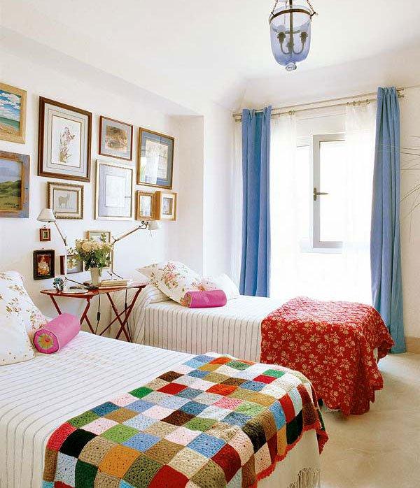 Фотография: Прочее в стиле , Спальня, Цвет в интерьере – фото на INMYROOM