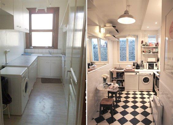 Фотография:  в стиле , Малогабаритная квартира, Квартира, Дома и квартиры, Переделка, Париж – фото на INMYROOM