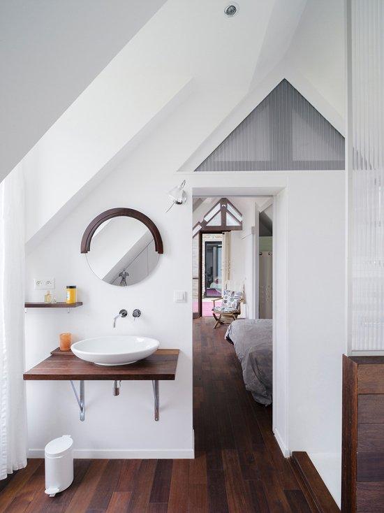 Фотография: Ванная в стиле Скандинавский, Дом, Дома и квартиры – фото на INMYROOM