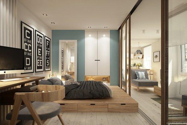 Фотография: Спальня в стиле Эко, Ремонт на практике, Гид – фото на INMYROOM