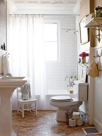 Фотография: Ванная в стиле Скандинавский, Декор интерьера, Интерьер комнат – фото на INMYROOM