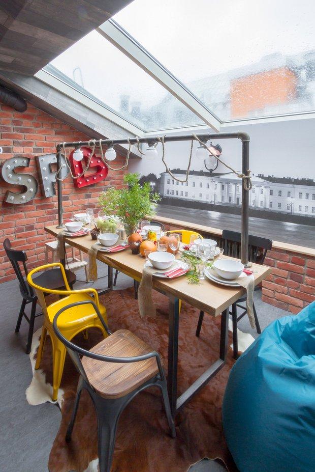 Фотография: Кухня и столовая в стиле Лофт, Квартира, Проект недели, Санкт-Петербург, Макс Жуков, ToTaste Studio, 4 и больше, Более 90 метров – фото на INMYROOM