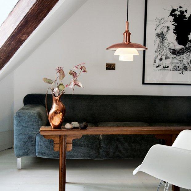 Фотография: Гостиная в стиле Лофт, Скандинавский, Декор интерьера, Дизайн интерьера, Цвет в интерьере – фото на INMYROOM