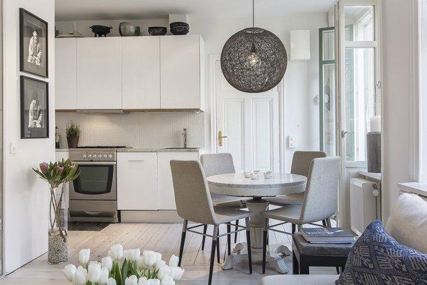 Фотография: Кухня и столовая в стиле Скандинавский, Советы, Haier – фото на INMYROOM